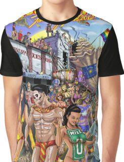 SheVibe Takes On Key West Fantasy Fest Graphic T-Shirt