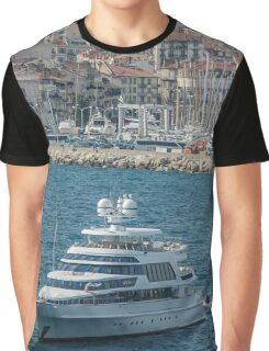 France Cannes Festival Cruisers Graphic T-Shirt