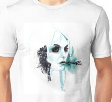 Watercolor Taylor Momsen fan art portrait Unisex T-Shirt