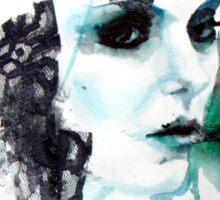 Watercolor Taylor Momsen fan art portrait Sticker