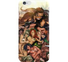 SheVibe Pan Orgy Cover Art - Safe iPhone Case/Skin