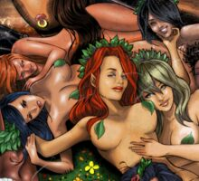 SheVibe Pan Orgy Cover Art - Safe Sticker