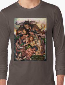SheVibe Pan Orgy Cover Art - Safe Long Sleeve T-Shirt