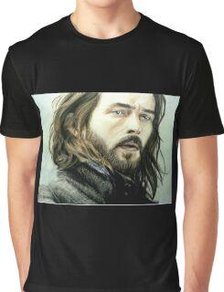 Tom Mison as Ichabod Crane Graphic T-Shirt