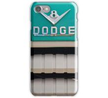 Vintage V8 Dodge iPhone Case/Skin