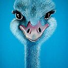 Portrait of an Ostrich... by Cherie Roe Dirksen