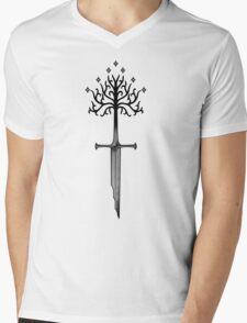 Narsil Mens V-Neck T-Shirt