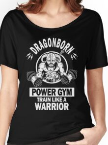 Dragonborn Power Gym Women's Relaxed Fit T-Shirt
