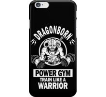 Dragonborn Power Gym iPhone Case/Skin