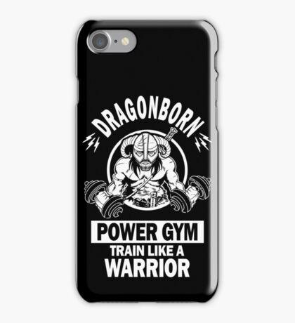 Dragonborn Power Gym iPhone Case/Skin