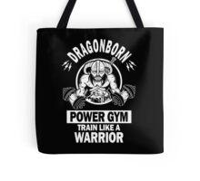 Dragonborn Power Gym Tote Bag