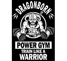 Dragonborn Power Gym Photographic Print