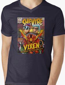 SheVibe Vixen Cover Art Mens V-Neck T-Shirt