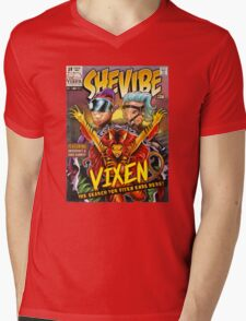 SheVibe Vixen Cover Art Mens V-Neck T-Shirt