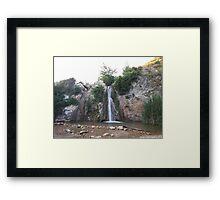 Waterfall Framed Print