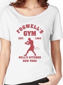 Fogwell's Gym Box the Devil Women's Relaxed Fit T-Shirt