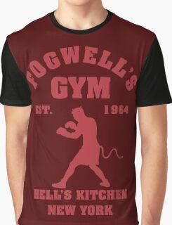 Fogwell's Gym Box the Devil Graphic T-Shirt
