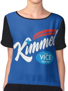 Jimmy Kimmel Chiffon Top