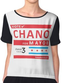 chano4mayor Chiffon Top