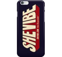 SheVibe Comic Logo iPhone Case/Skin