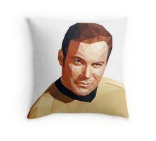 James T. Kirk Throw Pillow