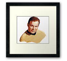 James T. Kirk Framed Print