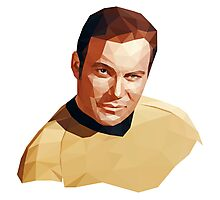 James T. Kirk Photographic Print
