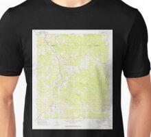 USGS TOPO Map Alabama AL Five Points 303833 1968 24000 Unisex T-Shirt