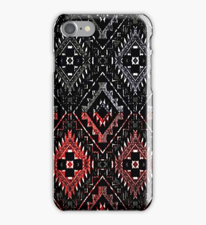 Abstract Trading Post Crazy Quilt iPhone Case/Skin