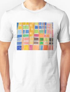 Rectangle Pattern With Sticks  T-Shirt