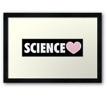 Science Framed Print