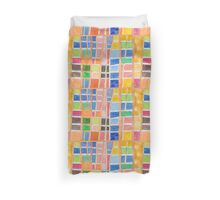 Rectangle Pattern With Sticks  Duvet Cover