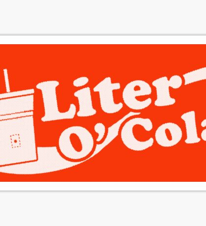 Liter o' Cola! Sticker
