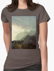 Misty Mountain Womens Fitted T-Shirt