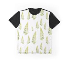 Watercolor fern seamless pattern Graphic T-Shirt