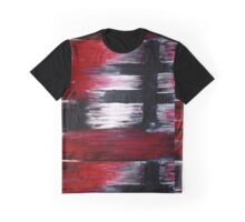 Black Cross Graphic T-Shirt