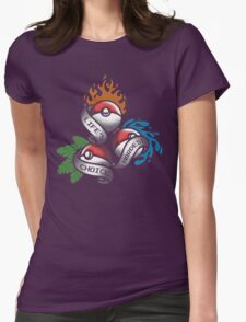 Life's Hardest Choice - Pokemon Womens Fitted T-Shirt