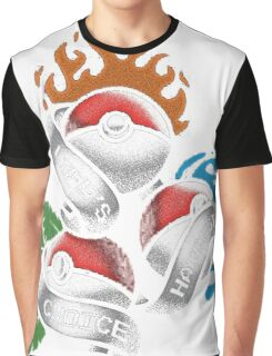 Life's Hardest Choice - Pokemon Graphic T-Shirt