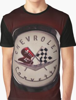 chevrolet corvette, corvette logo Graphic T-Shirt
