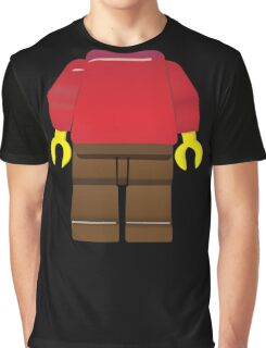 Red toy minifigure - add your head. Graphic T-Shirt