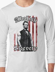 Abolish Sleevery (Vintage US Flag) Long Sleeve T-Shirt
