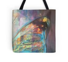 Blue Purple Butterfly Wing Tote Bag