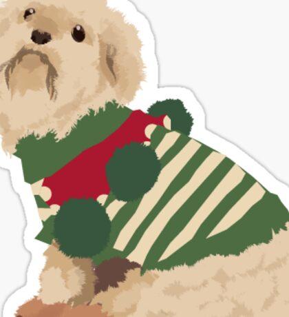 Christmas Peppy Sticker