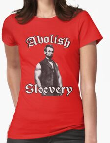 Abolish Sleevery Womens Fitted T-Shirt