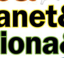 Sutton Foster Roles | White + Color Sticker
