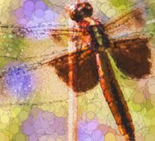Bubbles The Dragonfly Sticker