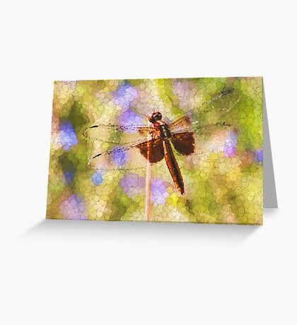 Bubbles The Dragonfly Greeting Card