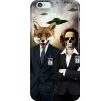 Fox and Skully iPhone Case/Skin