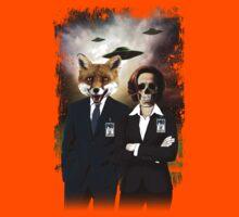 Fox and Skully Kids Tee