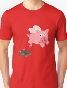 Pig out of slaughterhouse T-Shirt